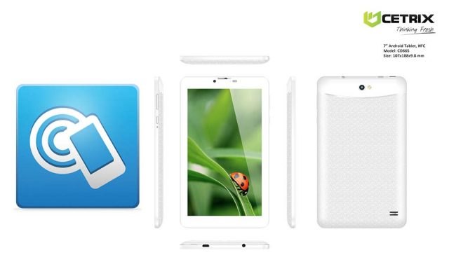 Cetrix Android Tablet for NFC